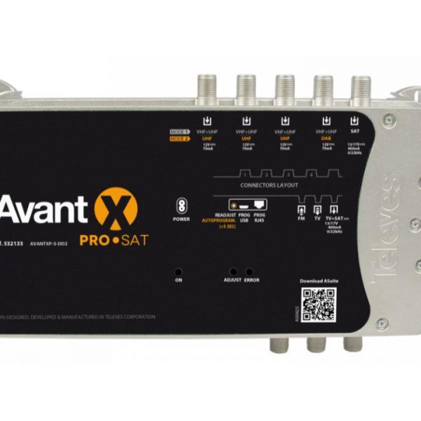 Central Avant Programmable X Pro For Terrestrial And Satellite.