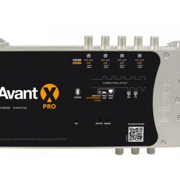 Central Avant Programmable X Pro For Terrestrial.